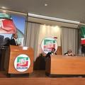 Pace fatta in Forza Italia con Nicola Giorgino, che partecipa ad un convegno con i maggiorenti regionali azzurri