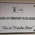 """La  """"Scuola di Polizia Locale """" di Andria intitolata all'Assistente di P.L. Natalia Sinisi"""