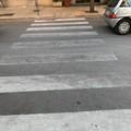 Andria scolorita: segnaletica orizzontale sempre meno visibile
