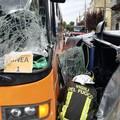 Incidente a Canosa di Puglia, conducente della Panda trasportata in codice rosso ad Andria