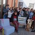 """Gli studenti dell'Archimede di Andria e Barletta impegnati nel progetto  """"Con le mani """""""