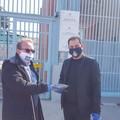 """Associazione onlus """"Citta Nuova"""": donate 100 mascherine alla Polizia Penitenziaria"""