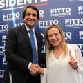 Regionali 2020, prima uscita ufficiale di Fitto con Giorgia Meloni