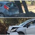 Incidente sulla strada che porta a Castel del Monte