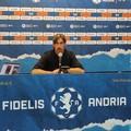 Catania-Fidelis Andria, Panarelli: «Gara molto difficile, guai a pensare alle loro difficoltà»