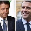 Il Presidente Conte omaggia Macron con olio d'oliva andriese