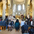 Chiesa San Luigi a Castel del Monte, incontro con Don Gigi Verdi della Comunità di Romena
