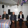 "Mons. Luigi Mansi in visita al Centro Anziani  ""Club d'Argento """