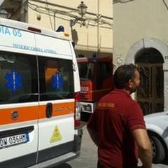 Un fornello incustodito: divampa un incendio in un'abitazione del Centro Storico di Andria