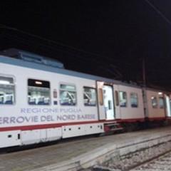 Treni regolari sulla tratta «Bari Nord» dall'alba