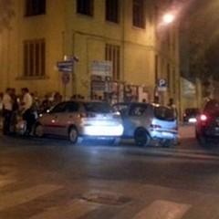 Fiat 600 contro Seat: incidente ieri sera in Corso Cavour