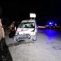 Impatto tra due veicoli sulla Bisceglie-Andria, danni ad un furgone della Caritas
