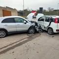 Due feriti in incidente stradale nei pressi di via Canosa