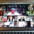Il presidente della Regione Emiliano in videoconferenza con la Asl Bt