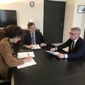 Cinghiali sulla Murgia: il Prefetto Sensi incontra il vice presidente del Parco Troia