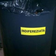 """Raccolta  """"indifereziata """": errore nelle indicazioni sui cestini pubblici"""