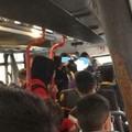 Assenza di mascherine e distanziamento: come viaggiano gli studenti da Andria a Molfetta?