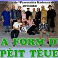 """""""La form du pèit tèue """": commedia in vernacolo andriese presso la parrocchia Madonna di Pompei"""