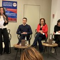 Inaugurazione Comitato Elettorale di Andria per Antonella Laricchia Presidente con la consigliera Di Baried il candidato Sindaco Coratella