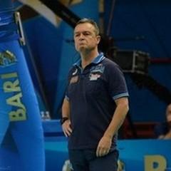 Il tecnico della Nazionale di Volley, Marco Bonitta ad Andria