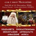 """I  """"magici """" mercatini di Natale nuovamente ad Andria"""