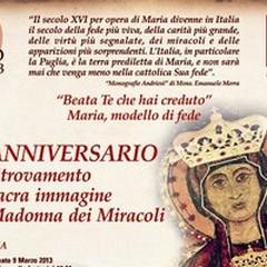 Rivivere il ritrovamento dell'icona della Madonna dei Miracoli