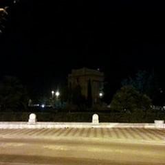 Monumento ai Caduti spento: c'è ma non si vede