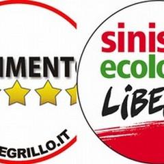 Godelli e Lomuscio per Sel, D'Ambrosio e Buccarella per il Movimento 5 Stelle
