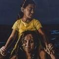 """""""Si prese cura """", una donna che salva dalle acque una bambina. Il murales di Geniale"""