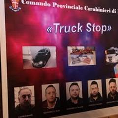 """Operazione  """"Truck Stop """": 6 arresti e 2 tonnellate di droga sequestrata"""