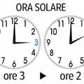 Torna dalle ore 3 l'ora solare: lancette dell'orologio un'ora indietro