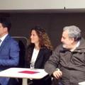 Manifestazione Pd con Messina, Calvio e Tarsitano