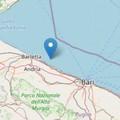 Lieve scossa di terremoto registrata lungo la costa di Barletta