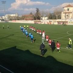 Sorrento - Andria 0-0: pareggio stretto per gli azzurri