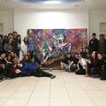 """Giunge al termine la  """"Street Art Gallery """" nel centro commerciale Mongolfiera: 48 classi coinvolte, 12 le opere realizzate"""