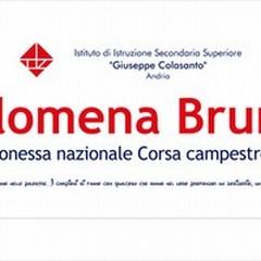 Filomena Bruno si esalta: campionessa nazionale di corsa campestre