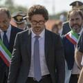 Il ministro Toninelli sul luogo del disastro ferroviario sulla Andria - Corato