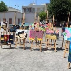 """Arte e gioia del colore: estemporanea di pittura della  """"Cafaro """""""
