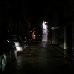 Via Ferrucci e Via Garibaldi al buio: guasto alla centralina