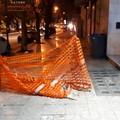 Pizzeria di Andria perde clienti per una recinzione pavimentale che dura da 7 mesi