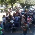 Mensa e servizi: Uil, cooperative e genitori in piazza Umberto I