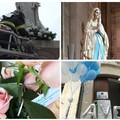 Fiori e colombe per Maria: l'omaggio del Calcit e dei Vigili del fuoco all'Immacolata. VIDEO