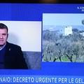"""Decreto gelate: Centinaio ribadisce il suo impegno ad  """"UnoMattina """""""