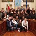 """""""Scuola Vaccina """": il sindaco Giorgino accoglie gli studenti stranieri per il progetto Erasmus Plus"""