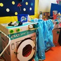 """Doni  """"green """" alla pediatria del Bonomo: i bambini costruiscono giochi per i degenti"""