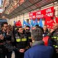 Vigili del fuoco, la Bat presente alla manifestazione di Bari