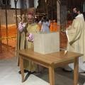 La parrocchia del Sacro Cuore di Gesù celebra la posa della prima pietra della nuova aula liturgica
