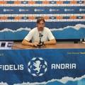 Fidelis Andria-Juve Stabia, Panarelli: «Ora si fa sul serio, ci sono punti in palio»