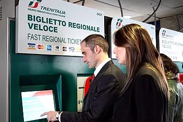 Biglietteria automatica Trenitalia