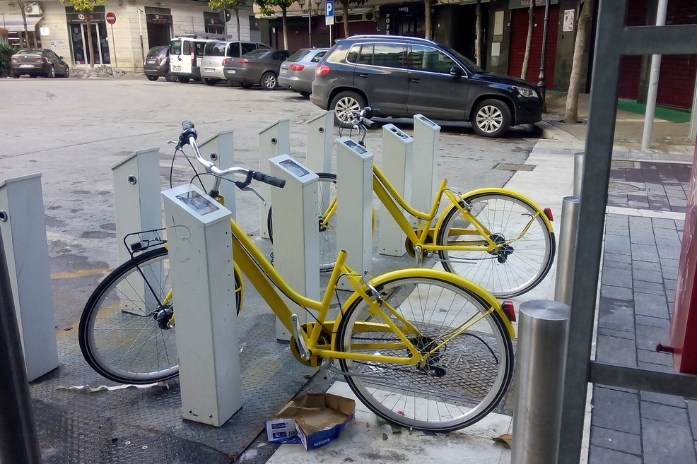 bike sharing Andria